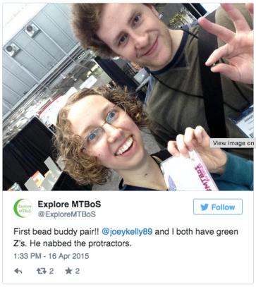 Explore MTBos Tweet