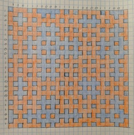 14. Hitomezashi Stitching