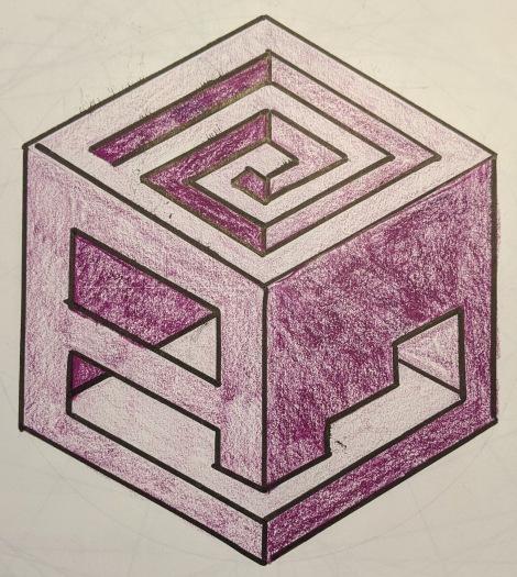 3. Isometric Cube Cutouts
