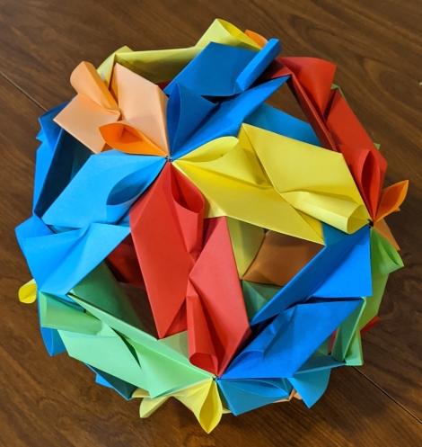 20. Origami Icossahedron