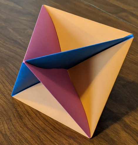 42. Origami Octahedron