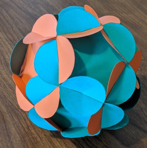 39. Flowered Dodecahedron