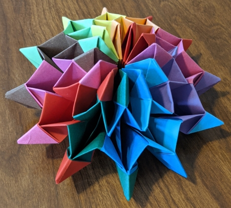 46. Origami Firework
